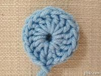 [CLICK to see animated stitchout!!! VERY cool!] Fisherman's Ring Crochet Square Loving this! :)
