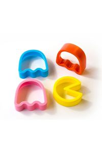 Pac-Man Cookie Cutters. My inner 8 year old is SO happy at the moment