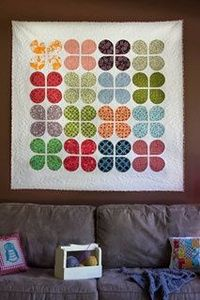 retro flowers quilt the sometimes crafter