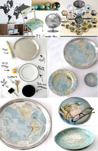 Ideas for all those old maps we no longer use. . .