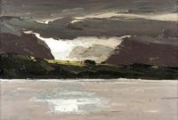 Kyffin Williams - Across the Water (1990-2006)