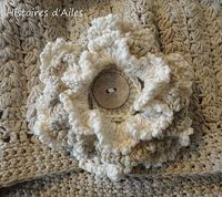 Beautiful Crochet Flower: free pattern in French