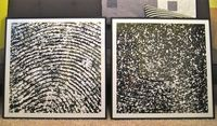 "Large scale fingerprint art.I will need to come up with a more ""do at home"" process"