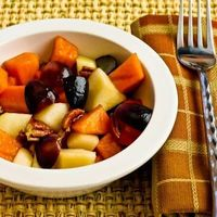 Winter Fruit Salad Recipe with Persimmons, Pears, Grapes, and Agave-Pomegranate Vinaigrette