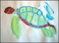 Turtle Art Ocean unit