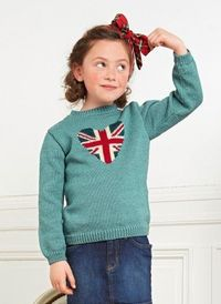 Bergere de france knitting Mag 163 - # 34 - Sweater