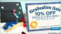 Musicians Friend Graduation Sale: 10% Off $99
