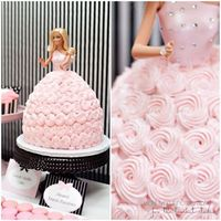 The Barbie cake, classic