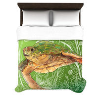 Shelley Duvet Cover by Catherine Holcombe for Kess InHouse