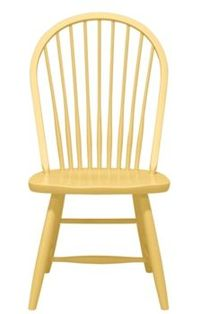 Windsor dining chair by Maine Cottage