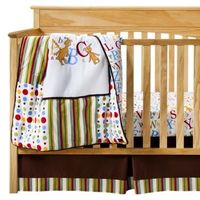 Trend Lab Dr Seuss ABC 3Pc Crib Bedding Set - Brown.Opens in a new window