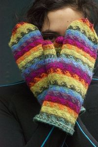 Kanagawa Rainbow by throughtheloops, ~ Love these colors and pattern ~