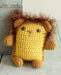 Image of Amigurumi Lion