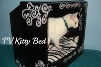 Repurposing an Old TV {New Kitty Bed} :: Hometalk