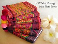 Notebook jackets of the Hmong hand-stitchwork