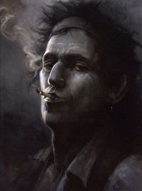 Keith Richards by Brian Fox