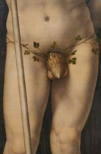 Neptune and Amphitrite, detail - Jan Gossaert 1516