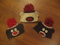 Girl in Air: A Sock Monkey Hat and a Giveaway