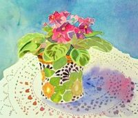 Jeanne Hall's Watercolor Gallery