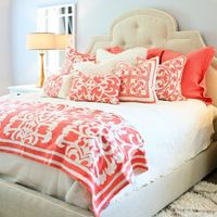 Lili Alessandra Battersea Quilted Ivory/Stone Coverlet or Set from