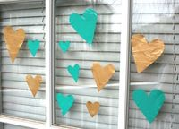How to make your own window clings with Mod Podge and acrylic paint