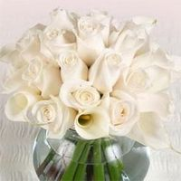 another calla lily rose centerpiece