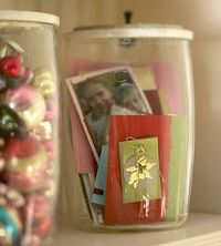 Christmas Card Canister--Better Homes and Gardens
