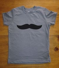 Mustache Shirt 6 Colors Available Kids Mustache by redbrickwall, $15.95