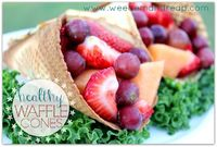 Weed 'em and Reap: Healthy Waffle Cones