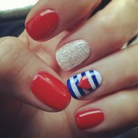 """Easy and Cute Nail Designs for Short Nails Nail Designs For Short Nails Tumblr �€"""" Fashion Belief"""