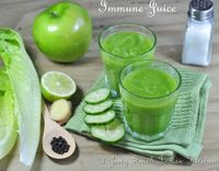 Immune Juice: A juice that helps to increase immunity