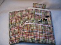 iPad Mini case / cover / sleeve with zippered pocket by bluesquarequilting on Etsy