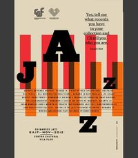 GUIMAR�ƒES JAZZ 2012 by Atelier Martinoña