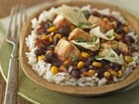 Chipotle peppers lend a smoky, spicy flavor to this homey southwestern chicken casserole.