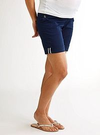 Maternity Chino Bermuda Short