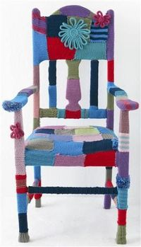 I want to crochet a house full of chairs... sigh...