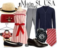 Main St. USA by Disneybound