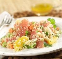 How To Make Grapefruit Quinoa Salad #Salad #Grapefruit #Quinoa #Salad