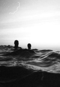 We tumbled into a sea from which we never left.