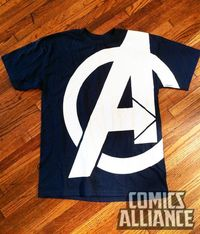 Avengers T-shirt from SDCC 11