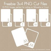 3x4 PNG cut files ........