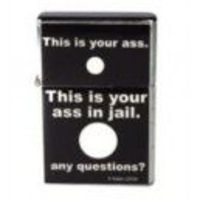 This is you ass any questions? Refillable Flip Lighter Jen's Mart Novelties Online FREE SHIPPING!!!