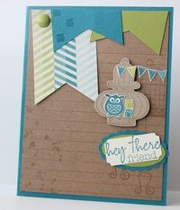 Stampin' Up! Card by Heather S: Paper Pumpkin stamps