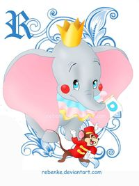 Dumbo in Carnival by rebenke.deviantart.com
