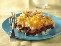 BBQ Beef and Potato Bake