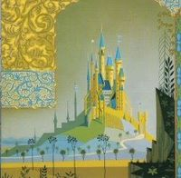 The work of Eyvind Earle, the painter who made the concept art for Disney's Sleeping Beauty #disney #sleepingbeauty