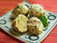 For my husband who lived in Germany for 2 years: Semmel Knödel; German Bread Dumplings