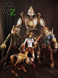 #Steampunk Wizard of Oz models are perfect!