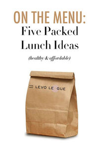 Brown Bag Lunches for Work