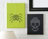 Halloween Cross Stitch from Decor Hacks
